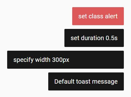 Basic Stackable Toast Notification Plugin For jQuery