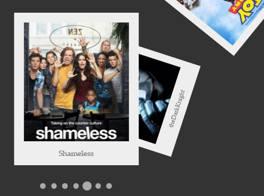Stacked & Scattered Polaroid Gallery with jQuery and CSS3