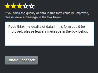 Star Rating Feedback Plugin For jQuery - feedbackBars.js