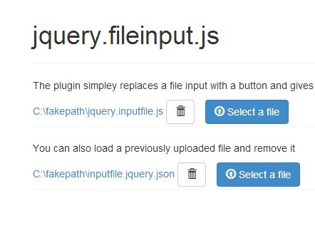 Styling Your File Input with jQuery Inputfile Plugin and Bootstrap