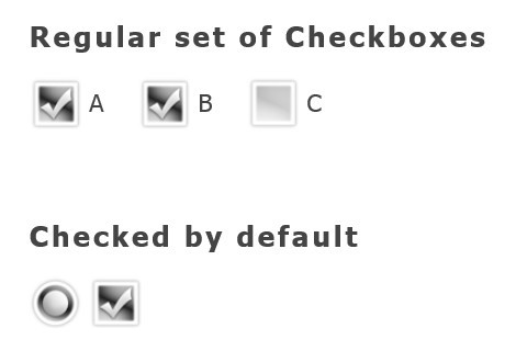 Stylish Checkbox and Radio Button Replacement With jQuery - ScrewDefaultButtons