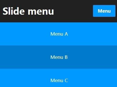 Stylish Responsive Slide Menu with jQuery and CSS3
