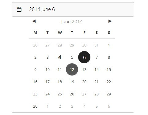 Stylish iOS 7-Style Date Picker with jQuery and CSS3 | Free