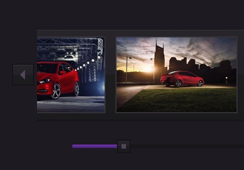 Stylish jQuery Image Gallery with Slider Control - Slider Gallery