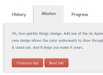 Stylish jQuery Tabs Plugin With Events and Skins Support - Ion.Tabs
