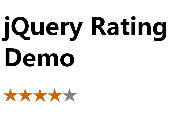 Super Simple jQuery Five-Star Rating Plugin with jQuery and CSS3