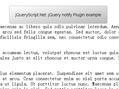 Super Simple jQuery Notification Box Plugin - notify