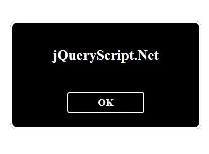 Super Tiny jQuery Modal Dialog Box Plugin - ssDialog