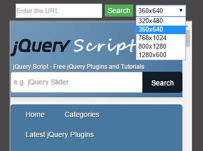Test Responsive And Device-specific Viewports Using jQuery - easyViewport