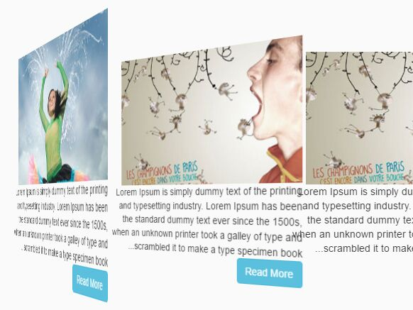 Tilted Image Gallery / Rotator With jQuery And CSS3 - jGallery