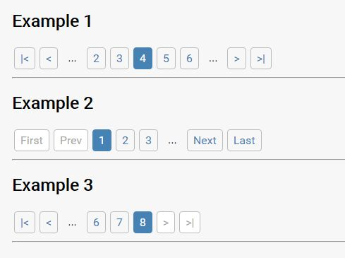 Tiny Bootstrap-style Pagination Component With jQuery - blade-pagination