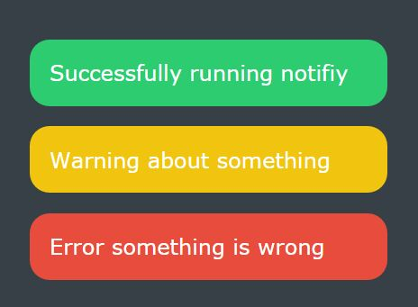 Tiny Customizable jQuery Notification Plugin - Noti