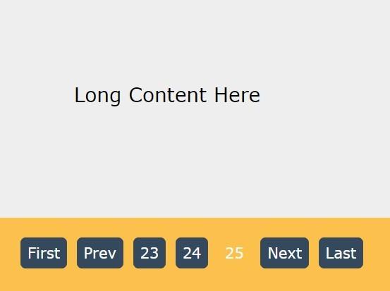Tiny Flexible jQuery Pagination Plugin - MXPage.js