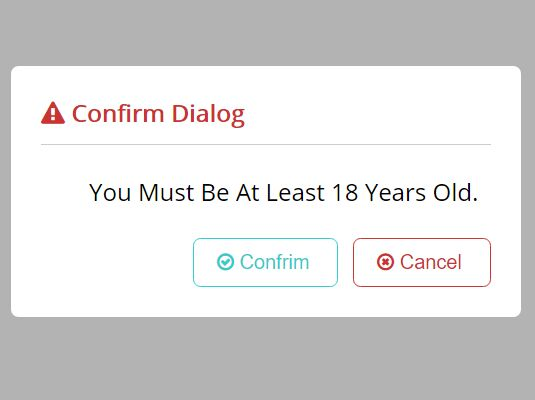 Tiny Nice Confirmation Popup Plugin With jQuery - H-confirm-alert