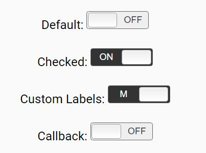 Tiny On / Off Switch Button Plugin For jQuery - easyswitch