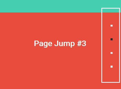Tiny One Page Scroll Navigation Plugin For jQuery