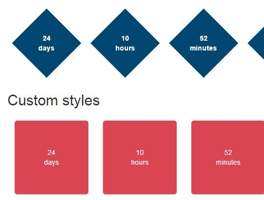 Tiny jQuery-Compatible Countdown JavaScript Library - simplyCountdown.js
