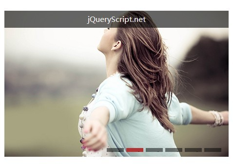 Tiny jQuery Image Slideshow with Animated Image Hover Effects - 56hm Rollslider