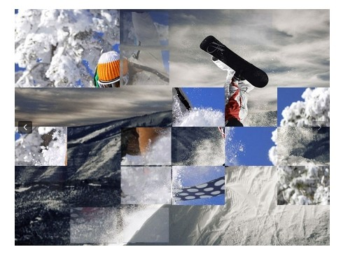 Tiny jQuery Image Slideshow with Slice Transition Effect - slydify