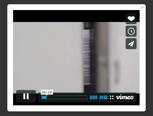 Tiny jQuery Youtube/Vimeo Video Lightbox Plugin - Lightbox Video