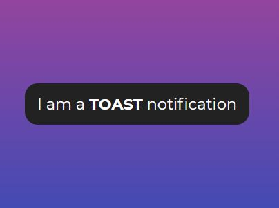 Tiny Toast Notification Library For jQuery - Toast.js