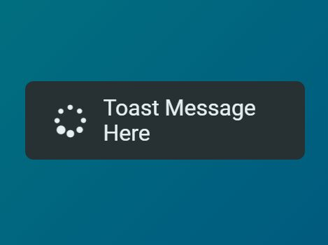 Small Unobtrusive Toast Popup Plugin For jQuery - simpleToast