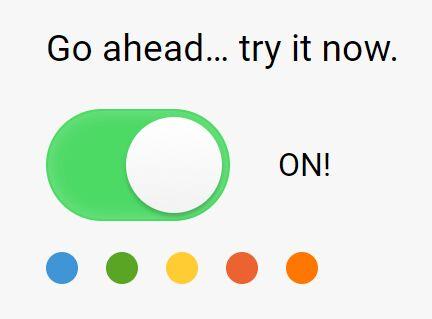 Simple Plain Toggle Button Plugin For jQuery - miniToggle.js