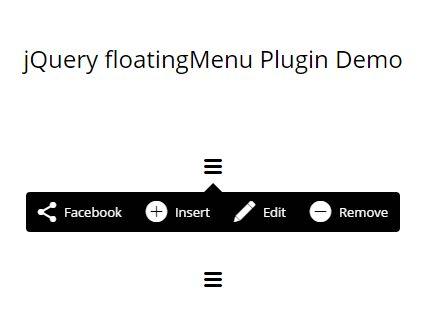 Tooltip-style Floating Menu Plugin With jQuery - floatingMenu