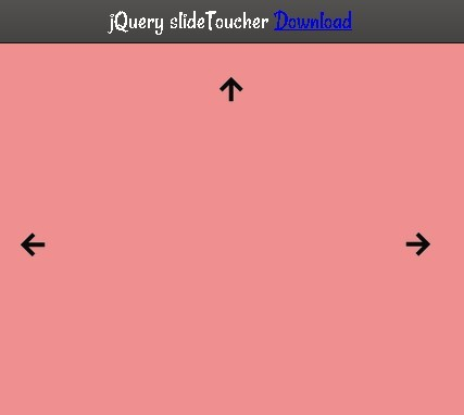 Touch Enabled Content Swiping Plugin with jQuery - slideToucher