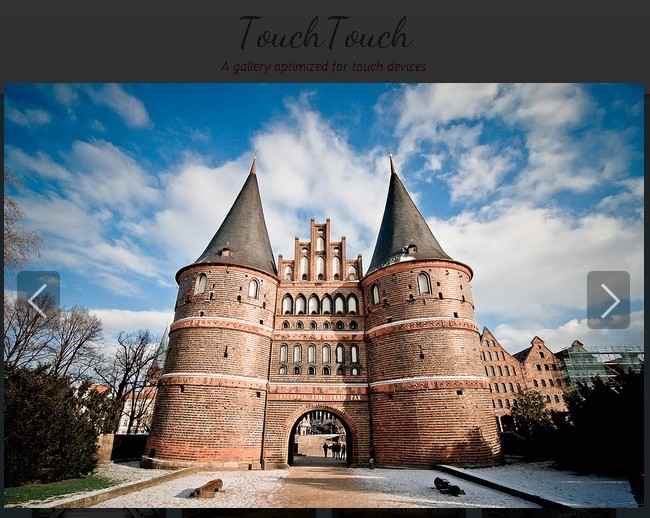 Touch Friendly Mobile Gallery Plugin with jQuery and CSS3 - touchTouch