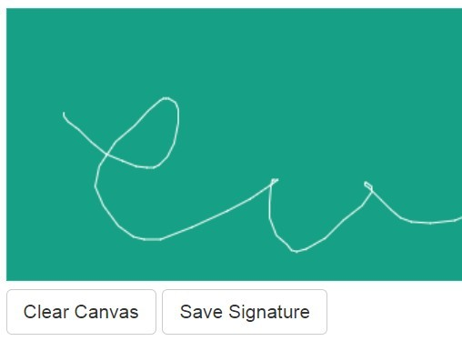 Touch-enabled Signature Plugin with jQuery and Canvas
