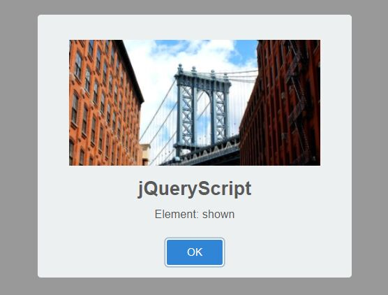 Trigger Events Based On Visibility - jQuery hideShow.js
