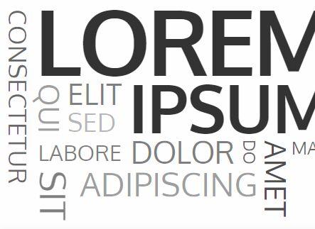 Universal Placeholder Text (Lorem Ipsum) Generator - getlorem