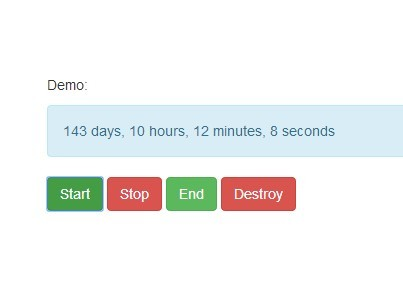 Versatile jQuery Countdown Timer Plugin - Countdown