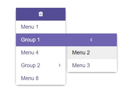 Vertical Multilevel Dropdown Menu with jQuery - Multilevel Dropdown