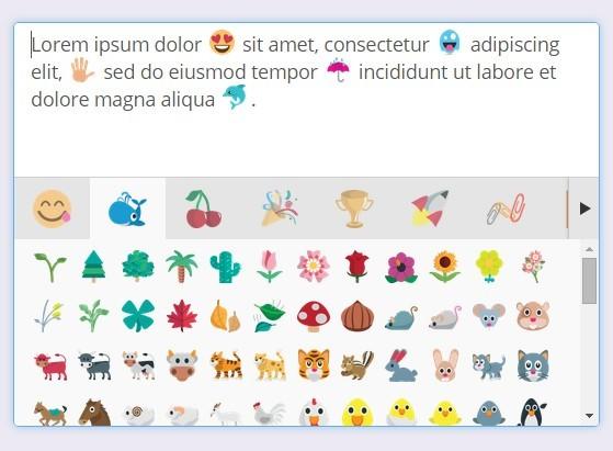jQuery emoji picker Plugins | jQuery Script