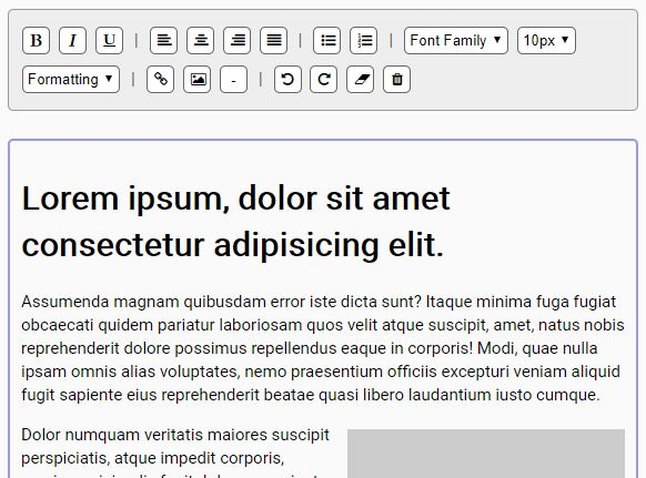 Make Element Editable With Tinymce Support - jQuery Textifyed | Free