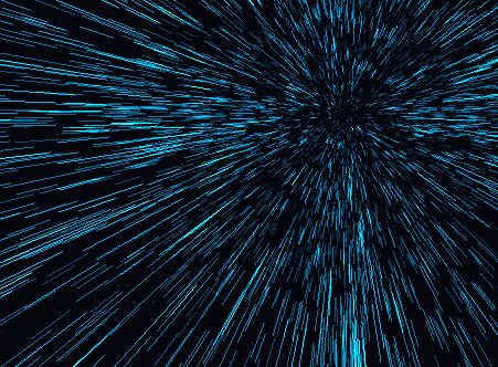 Interactive Warp Drive Starfield Effect With jQuery - Warp Drive