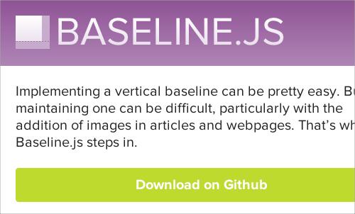 Web Typography Baseline Plugin - Baseline.js