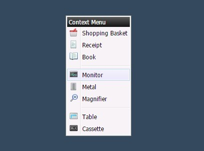 Windows Like Right Click Context Menu with jQuery