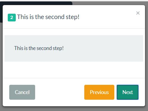 Simple Step-by-step Wizard Modal For Bootstrap - modal-steps.js