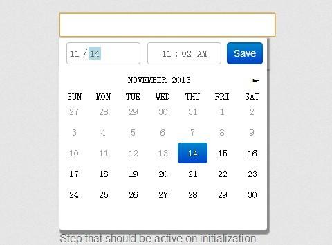Angularjs date range picker example