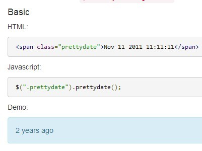 Yet Another jQuery Human Friendly Date & Time Formatting Plugin - Pretty Date