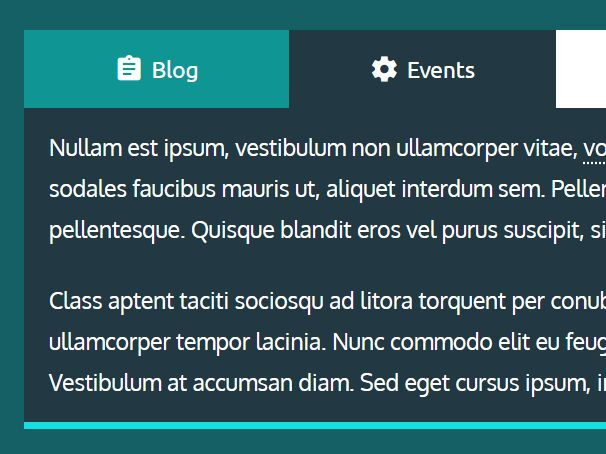 Accessible Responsive Tabs Plugin - jQuery Macaw Tabs