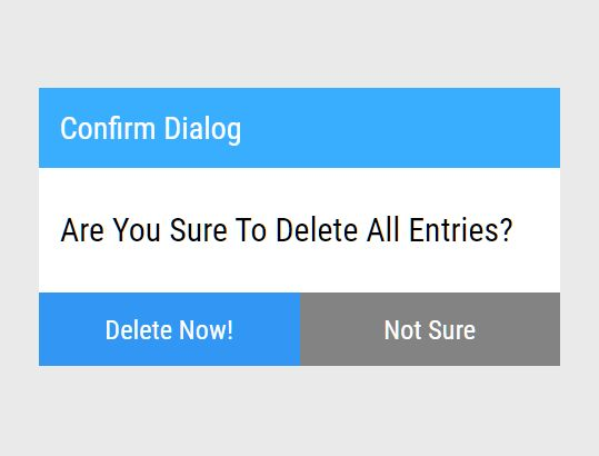 Minimal Alert/Confirm Dialog With Custom Tooltip - message.js