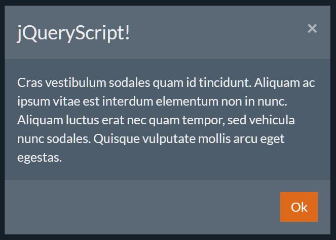 Javascript Replacement For Default Alert & Prompt Boxes - Bootalert