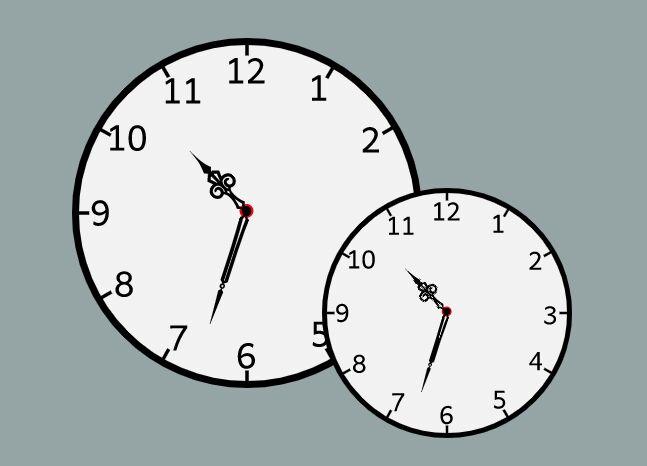 Customizable Analog Clock To Show Current Local Time - Analogclock
