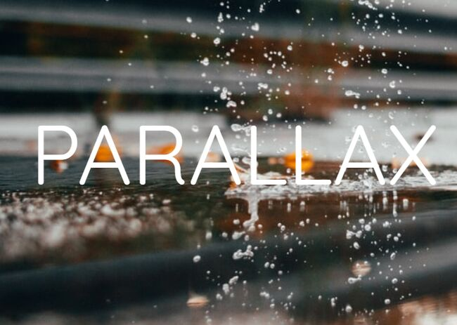 Animate Elements With Parallax Scroll Effects - parallax-scroll
