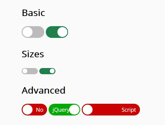 Animated iOS Style Switch With jQuery And Checkbox - netlivaSwitch