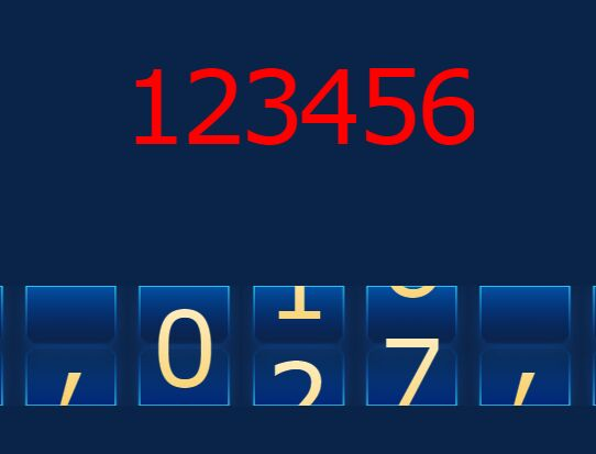 jQuery Plugin For Animating Numbers - rollNumber